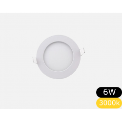 Panel Led 6w embutir...