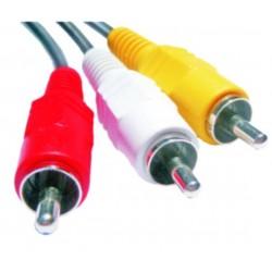 Cable 3 RCA a 3 RCA JA