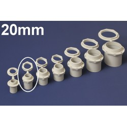 Conector PVC 20MM Polivinil