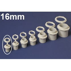 Conector PVC 16MM Polivinil