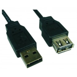 Cable usb macho a usb...