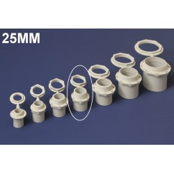 Conector PVC 25MM Polivinil