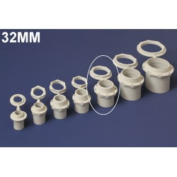 Conector PVC 32MM Polivinil