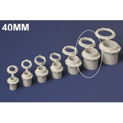 Conector PVC 40MM Polivinil