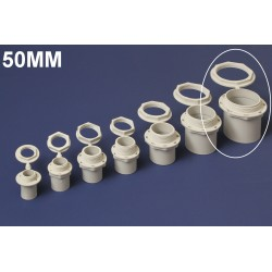 Conector PVC 50MM Polivinil