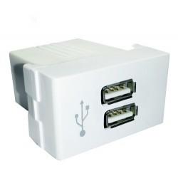 Modulo USB doble 3A 5V apto...