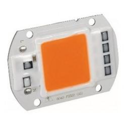 Chip led cob 50w 220v full...