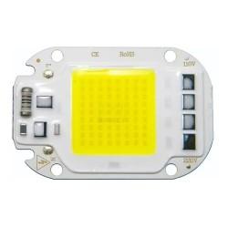 Chip led cob 50w 220v luz...