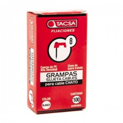 Grampa cable chato n°8...