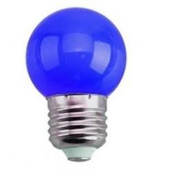 Foco Led Gota 1w Azul...