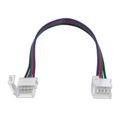 Conector doble para tira RGB