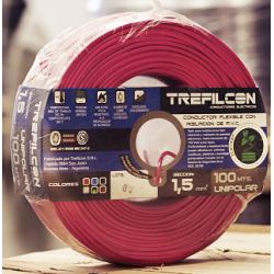 Cable Unipolar 1,5mm Rojo...