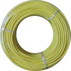 Cable textil 2x0.50mm Amarillo