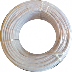Cable textil 2x0.50mm Blanco