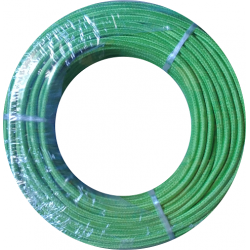 Cable textil 2x0.50mm Verde...